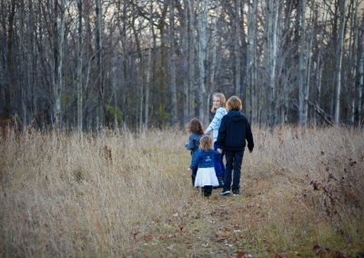 Walk in the Woods near Thief River Falls